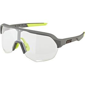 100% S2 Gafas, negro/transparente